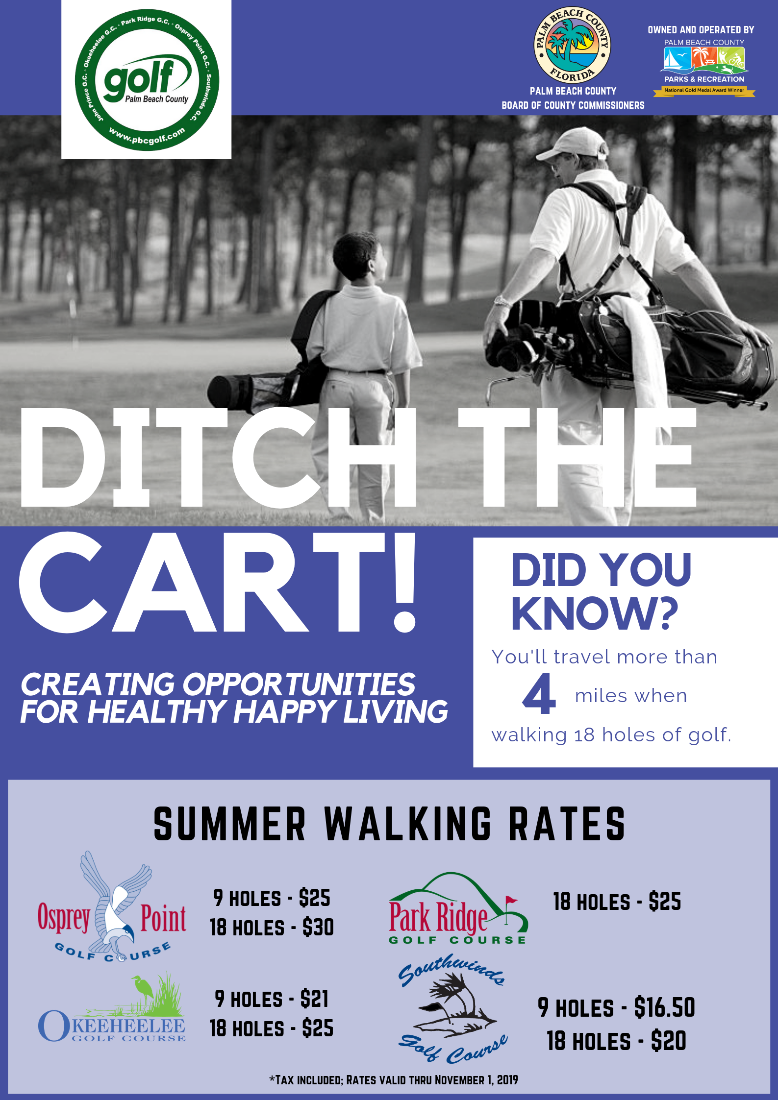 Walking Rates 2